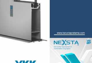 Aluminium-ykk-ap-seri-nexsta